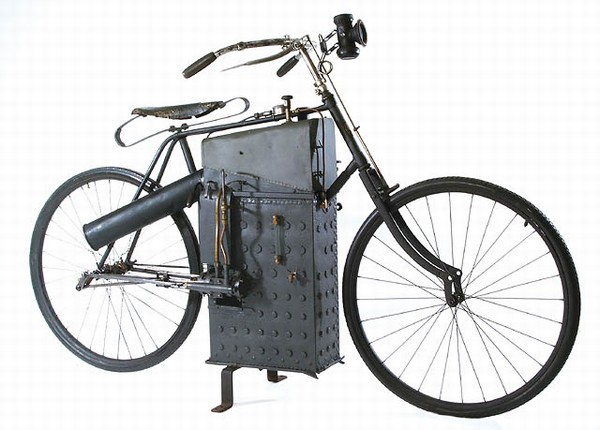 Roper Steam Powered Velocipede Or Motocycle